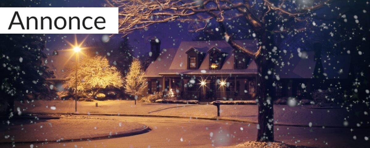 pas på dit hjem i julen